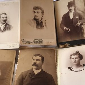 Vintage Photographs late 1800's.